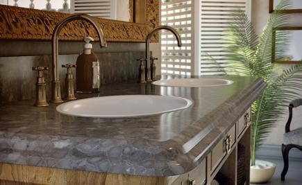 Caesarstone - Klassisches Design Caesarstone Oberflächen