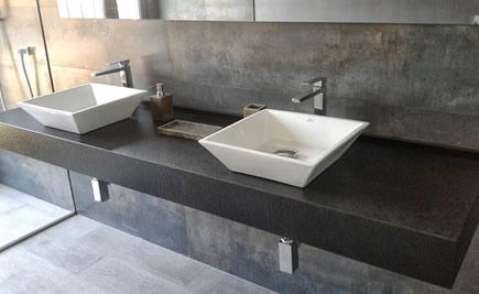 Granitwaschtische - Stilvolle Granitwaschtische