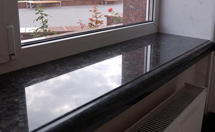 Schiefer Fensterbänke - Glänzende Schiefer Fensterbänke