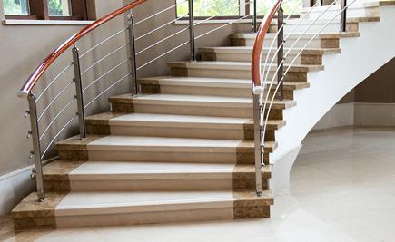 Treppen innen - Modernes Aussehen der Treppen innen