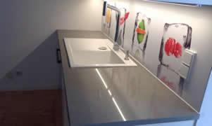 Küchenrückwand - Farbenfrohe Küchenrückwand