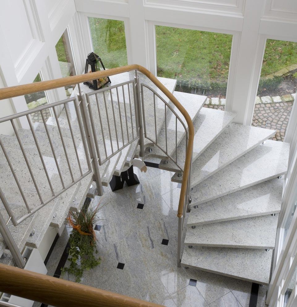 Granit Treppen - Langlebige Treppen