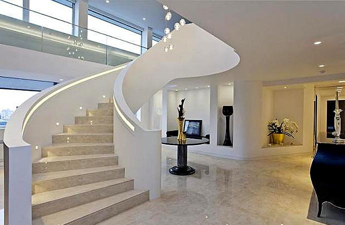 Marmor Treppen - Marmor Treppen, geeignet für den Innenbereich