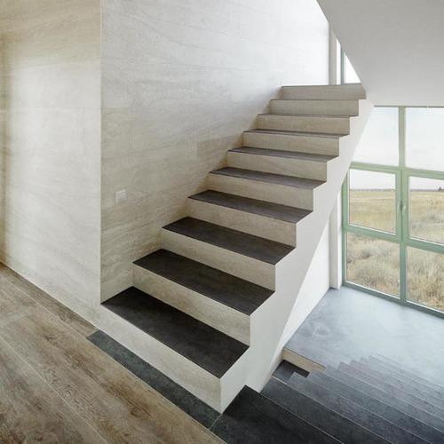 Keramikplatten als Treppenabdeckung