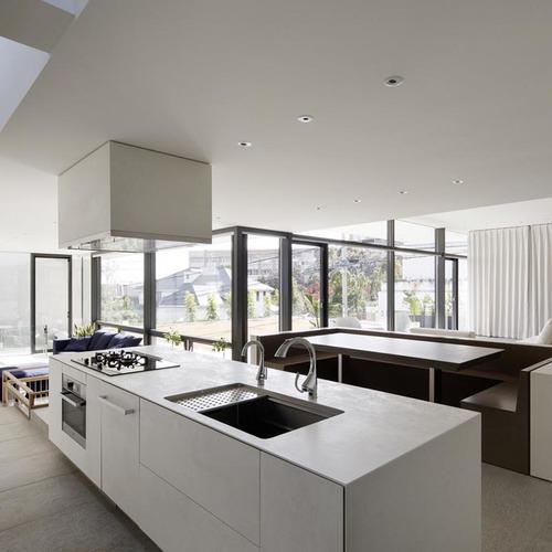 Keramikplatten in der modernen Küche