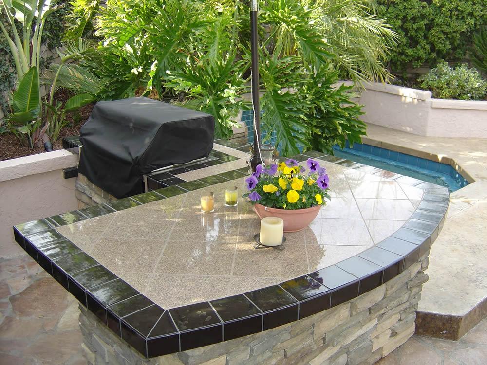 Granit - Schlichte Granit Arbeitsplatte